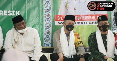 Kapolres Gresik Hadiri Acara Safari Ramadhan 1442 H Tetap Mematuhi Protokol Kesehatan