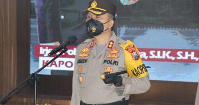 Rotasi 8 Perwira, Kapolres Gresik Segera Adaptasi Sukseskan Operasi Ketupat
