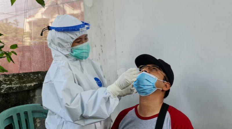 Swab Masal Anggota Polri Dukuh Pakis Selama 3 Hari